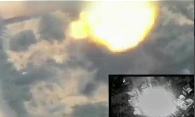 וידאו: שורת תקיפות של חיל האוויר