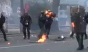 האלימות שהמשטרה הפעילה לאחר התקרית