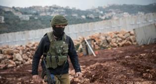 """כוח צה""""ל בגבול לבנון. ארכיון"""
