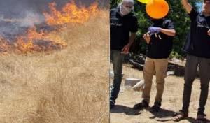 מפריחי הבלונים, והאש בעקבותיהם