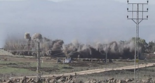 300 מוקשים פוצצו בשידור חי • צפו בווידאו