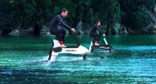 זה הדבר הבא? האופניים שנוסעים על המים