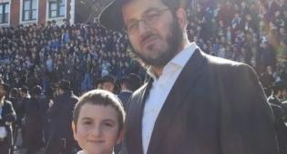 הרב קריצ'בסקי ובנו