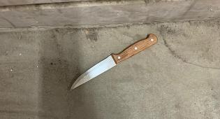 הסכין שנתפסה