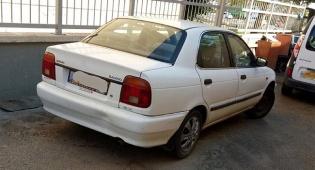 הרכב שהושבת - הסיעה את ילדיה למרות שלא הוציאה רישיון