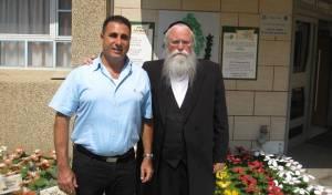 """חיים זרביב, מנכ""""ל תאגיד אל""""ה והרב יהודה מרמורשטיין מנכ""""ל עמותת עלה."""