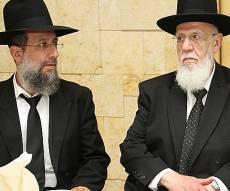 """הרב יעקב כהן עם אביו נשיא המועצת - בנו של נשיא המועצת: """"לא היה שום דיבור לשינוי בש""""ס"""""""