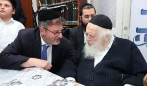 ברכת שר התורה לישועות עצומות למשתתף במפעלו של הרב פישר