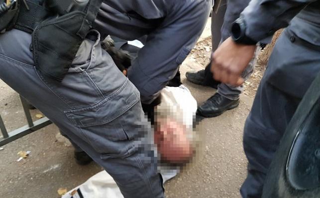 מעצר בהפגנה. אילוסטרציה