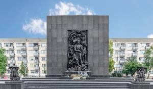 אנדרטה לזכרון השואה בוורשא