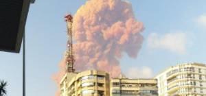 מאות נפגעים: צפו בפיצוץ העז בנמל ביירות