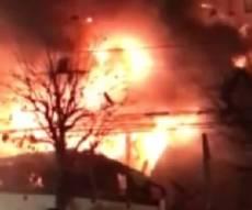 עשרות נפגעים בפיצוץ אדיר במסעדה יפנית