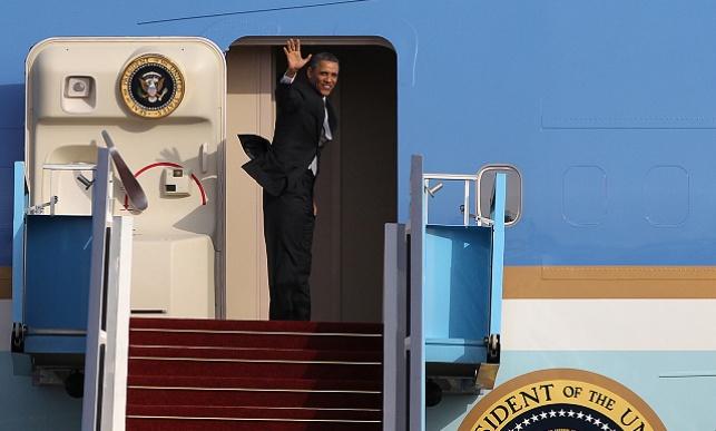 ברק אובמה נפרד