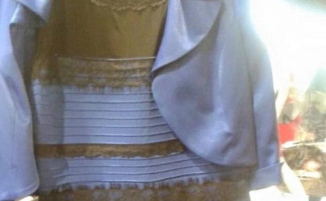 נפתרה תעלומת השמלה הכחולה/מוזהבת