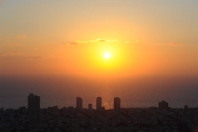 קו האופק של תל אביב