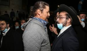צפת: עשרות הפגינו נגד עמותה חילונית