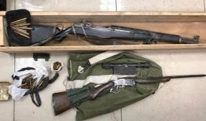 שני רובים ותחמושת נתפסו במזרח ירושלים