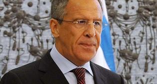 """שר החוץ הרוסי סרגיי לברוב - שר החוץ של רוסיה: """"התפתחות מסוכנת"""""""