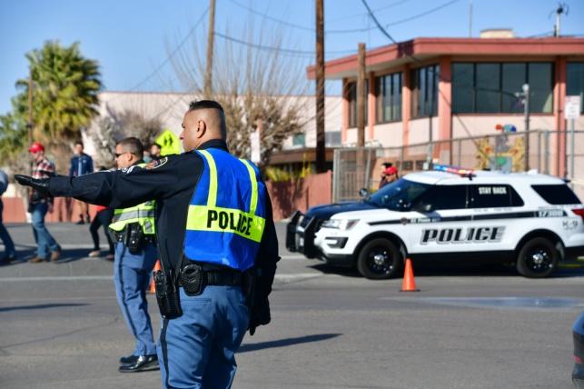 משטרה בעיירה אל פאסו