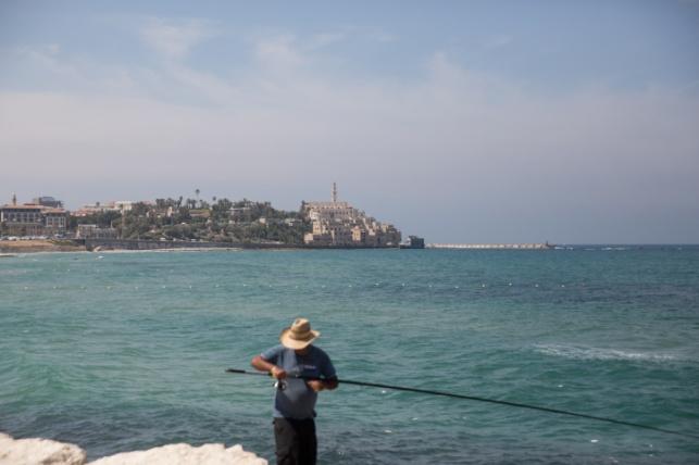 דייג ביפו אתמול