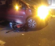 זירת התאונה בתל אביב - בתוך חצי שעה: שני הרוגים בתאונות דרכים