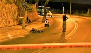 האופניים בזירת התאונה הלילה