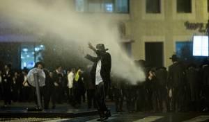 הפגנות 'הפלג' על מעצר עריקים. ארכיון