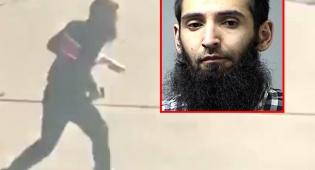 סייפולו סייפוב. משמאל: בעת ההימלטות - המחבל מניו יורק: סייפולו סייפוב; נשבע אמונים לדאעש