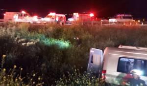 שמונה תלמידי ישיבה נפגעו בתאונה בצפון; שניים קשה