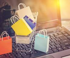 קניות באינטרנט. אילוסטרציה