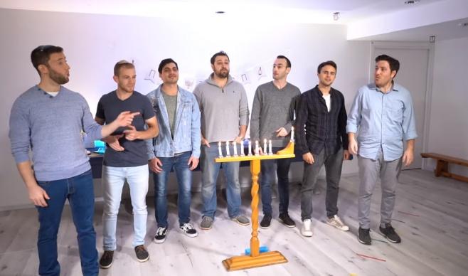 להקת 'כיפה לייב' בסינגל קליפ חנוכה: היה אור