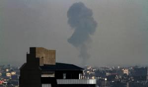 התגובה הישראלית בעזה, השבוע - רקטה שנורתה מעזה התפוצצה בישראל