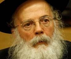 הרב וולפא - הרב וולפא עודד סירוב לפנות ישובים - וזוכה