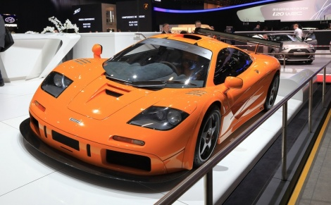 מקלארן F1 - רכבים בהתאמה אישית לעשירים בלבד