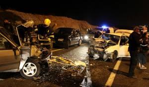 תאונה בכביש 90