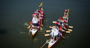 פסטיבל סירות הדרקון בנחל הירקון • צפו