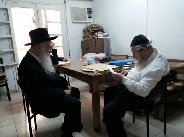 נשיא פוניבז' בבתי גדולי ישראל