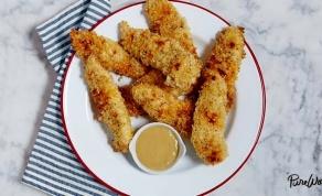 לא רק לילדים. אצבעות עוף קריספיות בתנור - לא רק לילדים: אצבעות עוף קריספיות בתנור