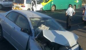 פלסטינים מעורבים בתאונה קשה בציר 60