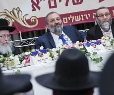 ראשי הסיעות החרדיות גפני, דרעי וליצמן - פגישה גורלית: ביום שלישי תוכרע שמירת השבת בירושלים