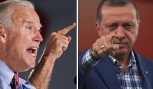 """ארדואן יוצא נגד ביידן: """"יש לך דם על הידיים"""""""