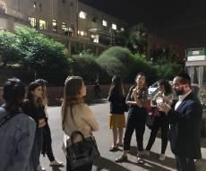 עורכי ומפיקי 'חדשות 12' סיירו בעיר התורה