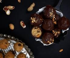 טראפלס אגוזים ושוקולד צי'פס