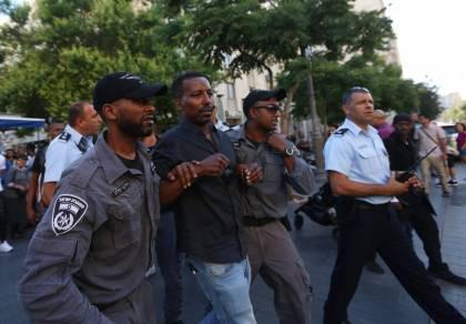 האתיופים חזרו להפגין: ניסו לחסום תנועה