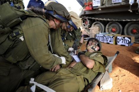"""אילוסטרציה. למצולמים אין קשר לנאמר בכתבה - מחבלים ירו לעבר כח צה""""ל, חייל נפצע קל"""