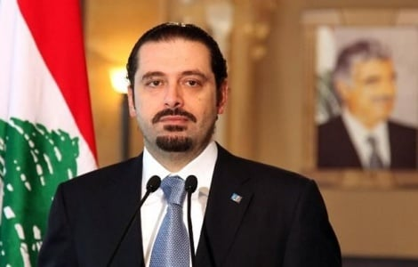 ראש הממשלה המתפטר אל חרירי - ראש ממשלת לבנון התפטר ותקף את איראן
