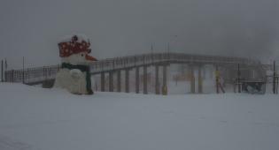 לאחר הסערה: כך נראה השלג בחרמון • צפו