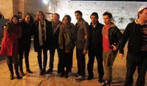 פפארצ'י: שחקנים ישראלים בכותל