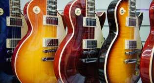גיטרות תוצרת גיבסון