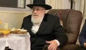 מסיבת ההודיה של הגאון רבי שמעון אליטוב